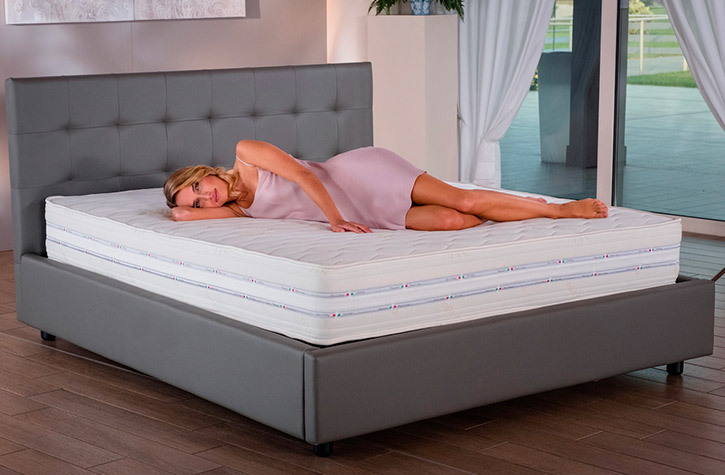 Materassi in lattice e memory foam vegan lamantin for Lamantin letti