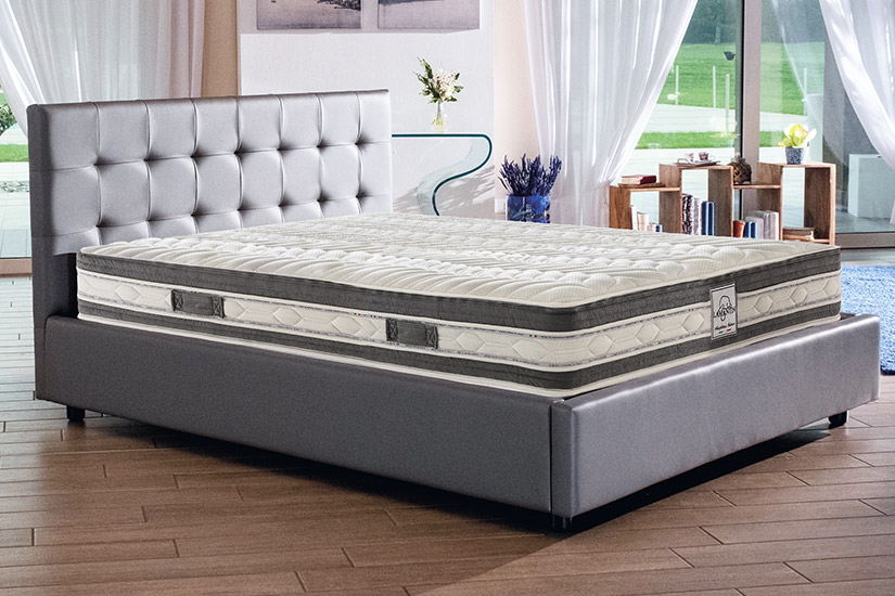 Materasso in memory foam con 7 zone a portanza differenziata Lamantin Vivere